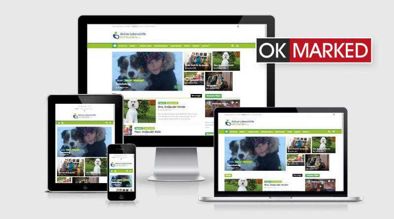 Die neue Webseite von OK-MARKED.de